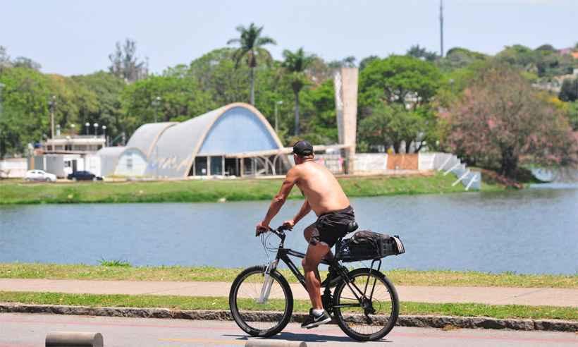 Pampulha, um dos locais tradicionais para a prática esportiva em BH, é candidata a ganhar novo espaço