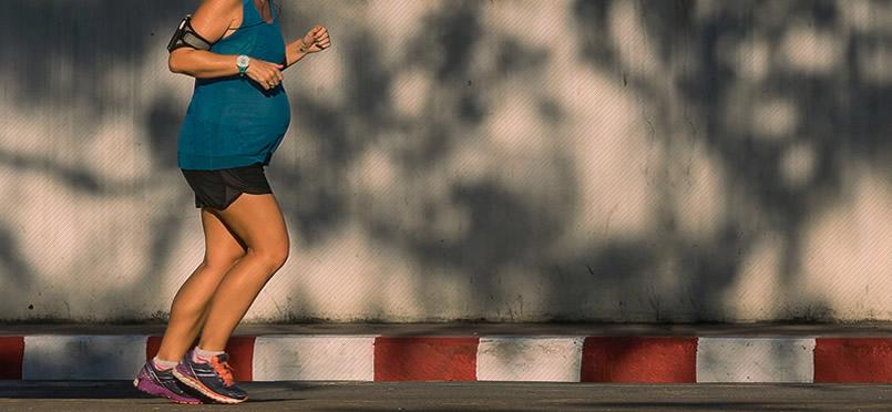 É seguro correr grávida ou quando está tentando engravidar?