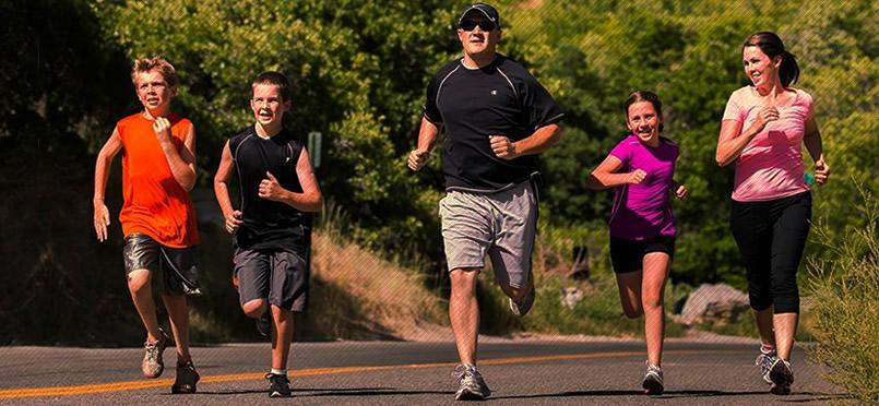 Dia da Família – Divirtam-se Correndo